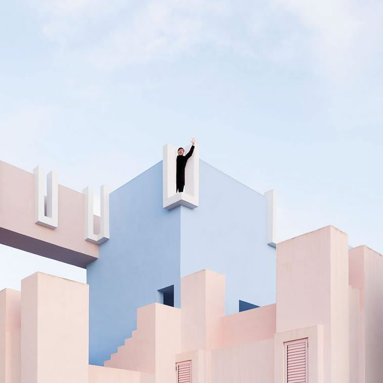 two spanish photographers play with architecture 3