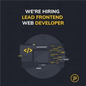 Potreban Lead Front-end developer