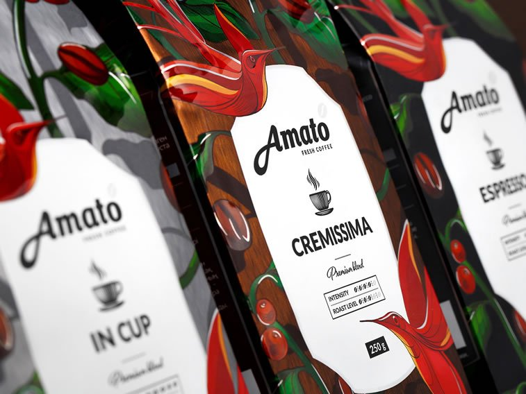 coffee packaging amato 1