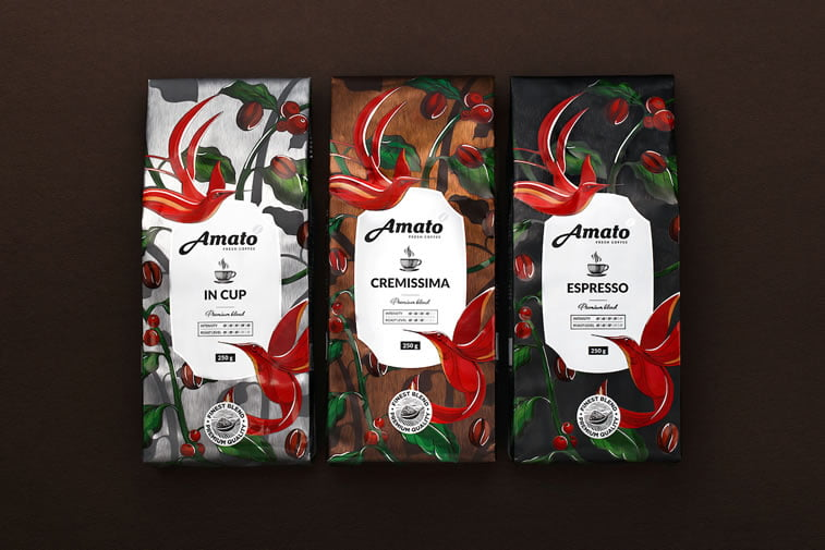 coffee packaging amato 2