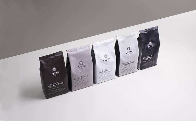 coffee packaging bazar 1