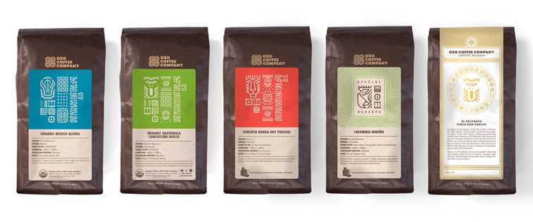 coffee packaging ozo coffee 1