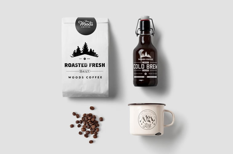 coffee packaging woods 2