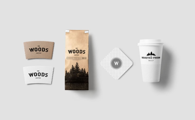 coffee packaging woods 3