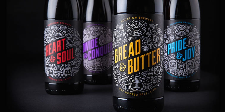 craft beer label design 12