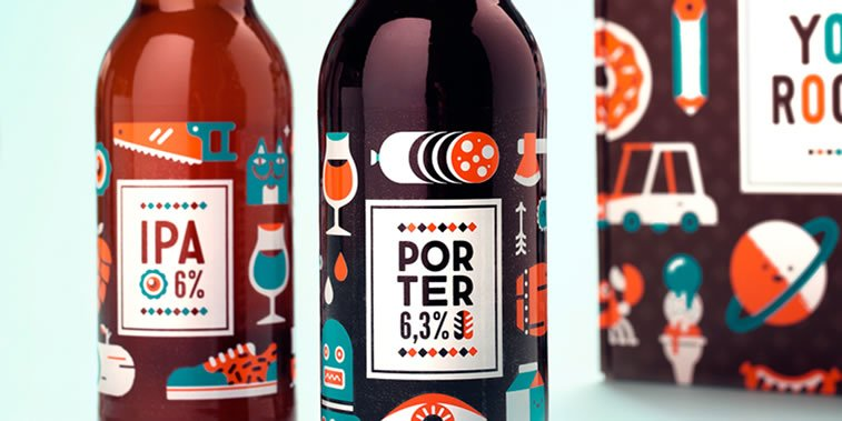 craft beer label design 33