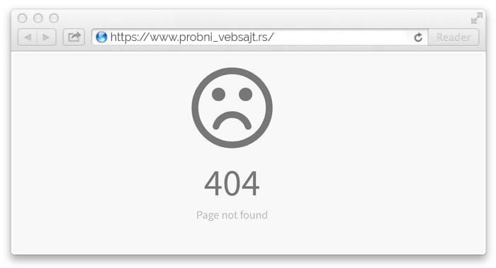 Kako rešiti najčešće probleme na vebsajtu 6