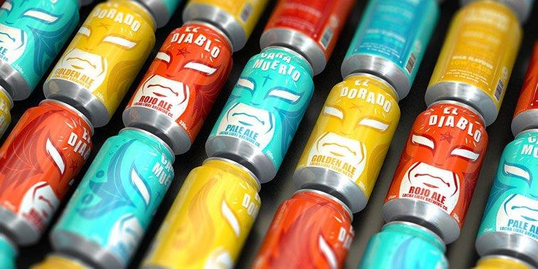 Limenke za pivo: dobri primeri kreativnog dizajna ambalaže 12