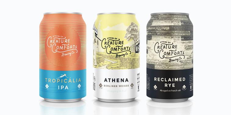 Limenke za pivo: dobri primeri kreativnog dizajna ambalaže 13