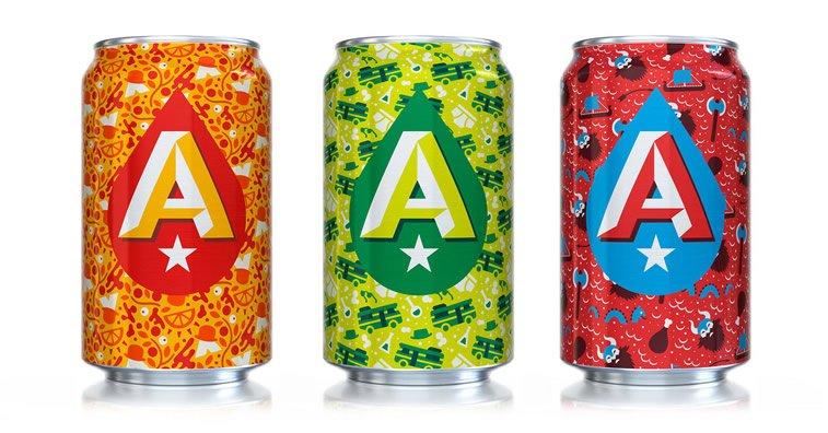 Limenke za pivo: dobri primeri kreativnog dizajna ambalaže 17