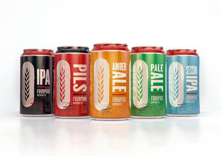 Limenke za pivo: dobri primeri kreativnog dizajna ambalaže 19