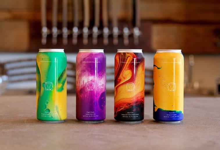 Limenke za pivo: dobri primeri kreativnog dizajna ambalaže 2