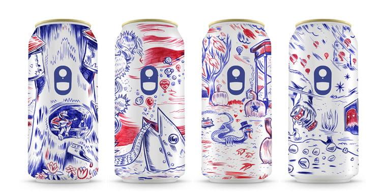 Limenke za pivo: dobri primeri kreativnog dizajna ambalaže 5