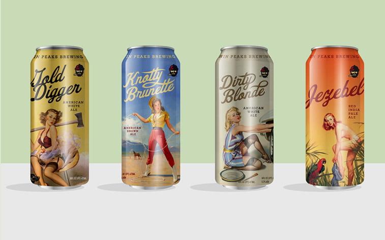 Limenke za pivo: dobri primeri kreativnog dizajna ambalaže 8