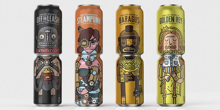 Limenke za pivo: dobri primeri kreativnog dizajna ambalaže 9