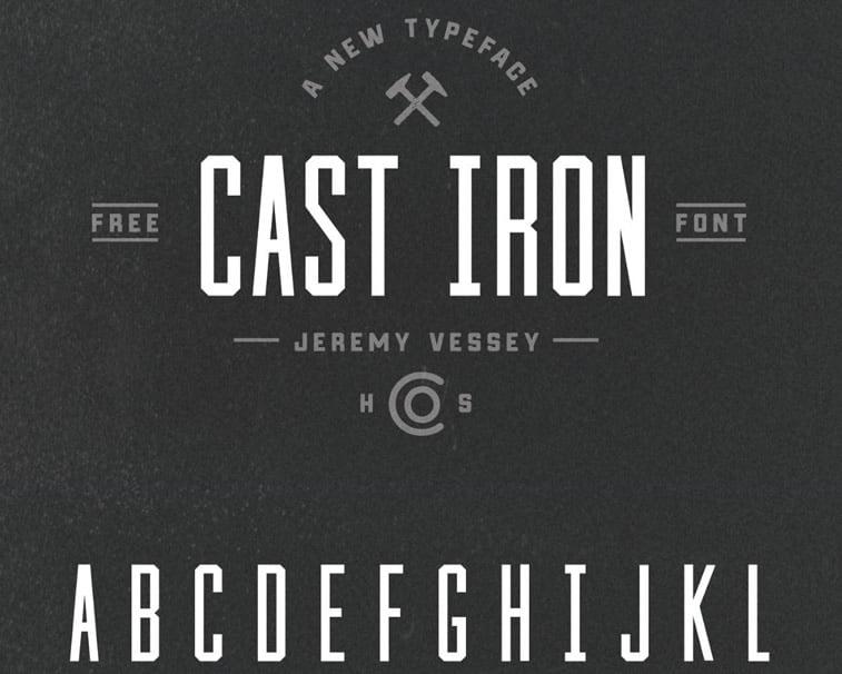 Najbolji besplatni fontovi za logoe: leto 2017. godine 1