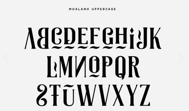 Najbolji besplatni fontovi za logoe: leto 2017. godine 3