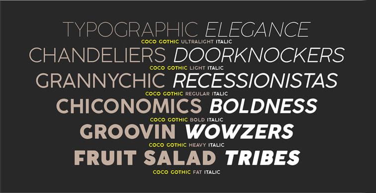 Najbolji besplatni fontovi za logoe: leto 2017. godine 4