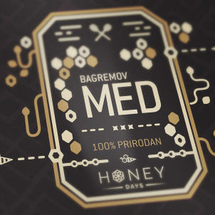 Beautiful honey packaging design for your inspiration