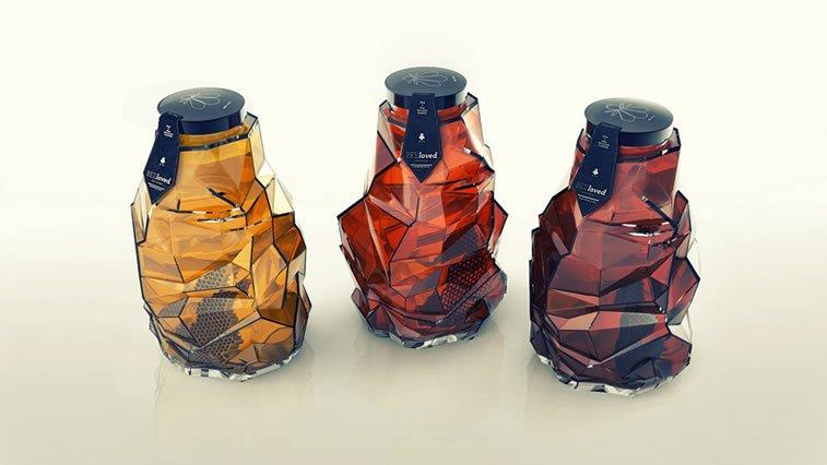 honey packaging design beautiful inspiration 14