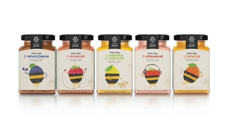 honey packaging design beautiful inspiration 16