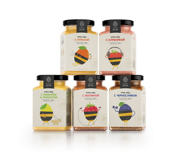 honey packaging design beautiful inspiration 2