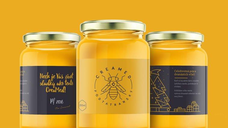 honey packaging design beautiful inspiration 24