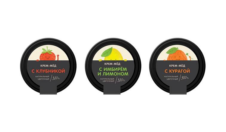 honey packaging design beautiful inspiration 3