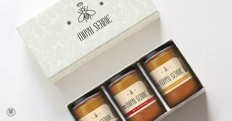 honey packaging design beautiful inspiration 37