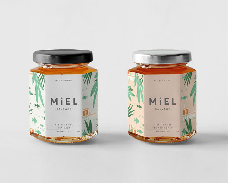 honey packaging design beautiful inspiration 4