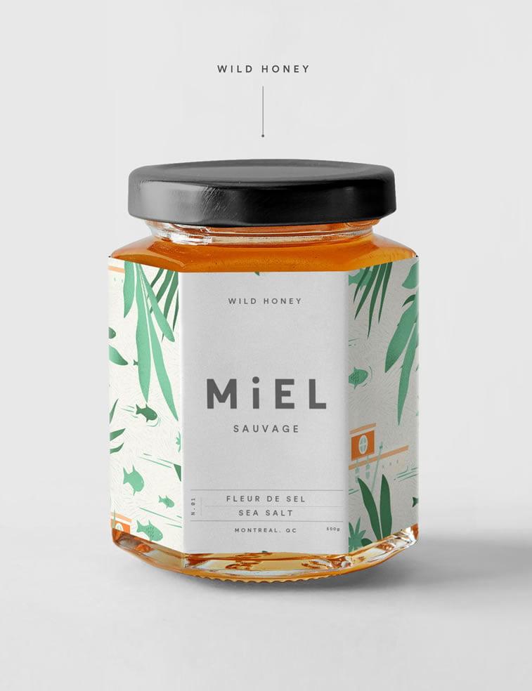 honey packaging design beautiful inspiration 5