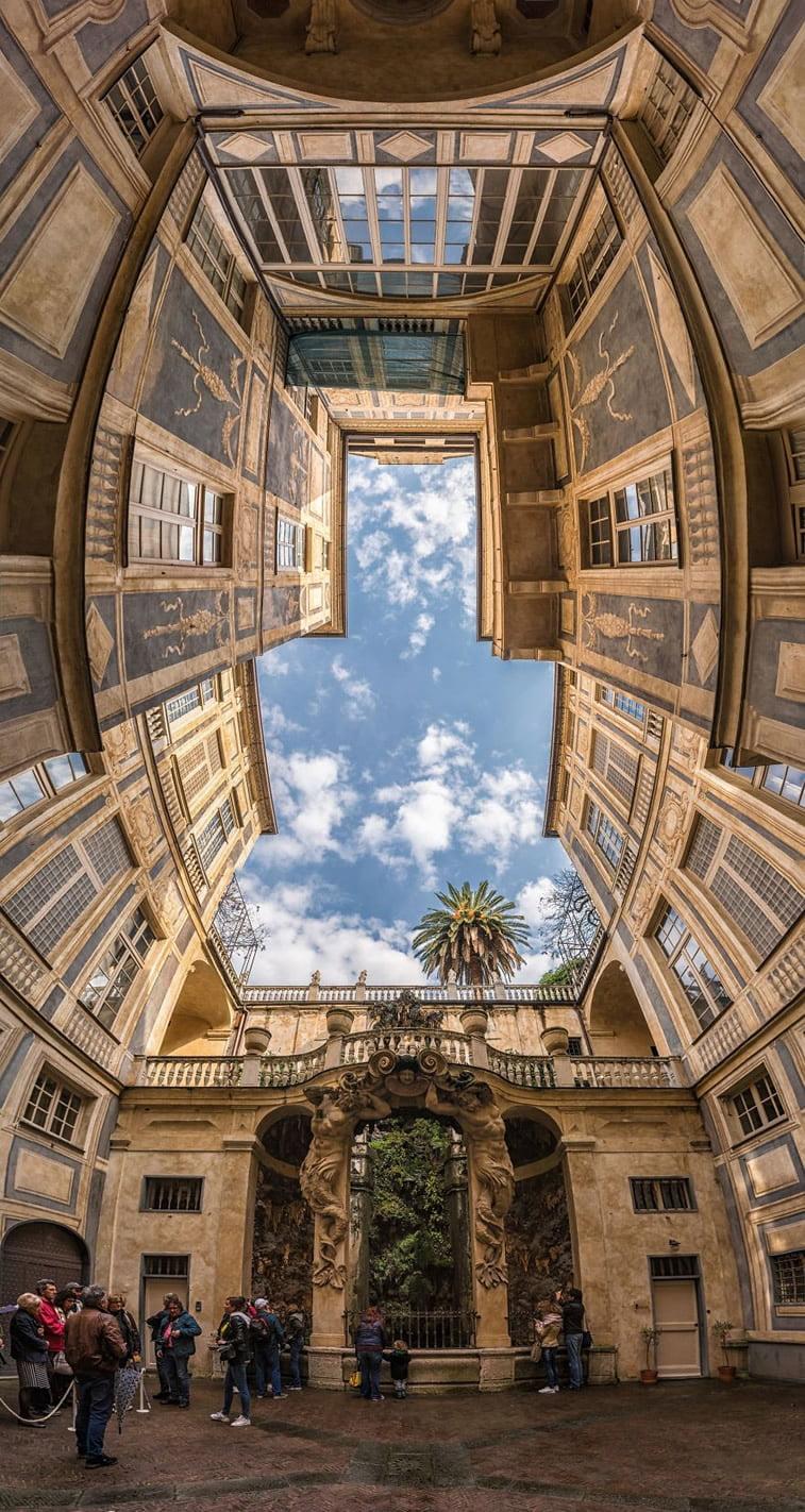 Unutrašnje panorame arhitektonskih zdanja 1