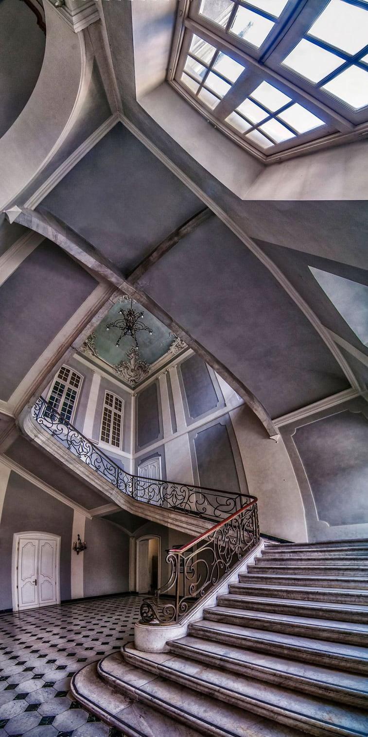 Unutrašnje panorame arhitektonskih zdanja 11