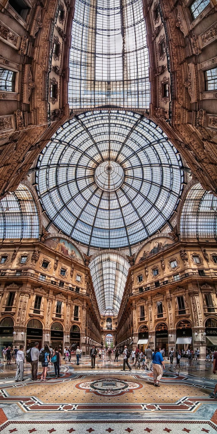 Unutrašnje panorame arhitektonskih zdanja 13