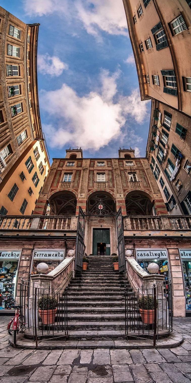 Unutrašnje panorame arhitektonskih zdanja 2