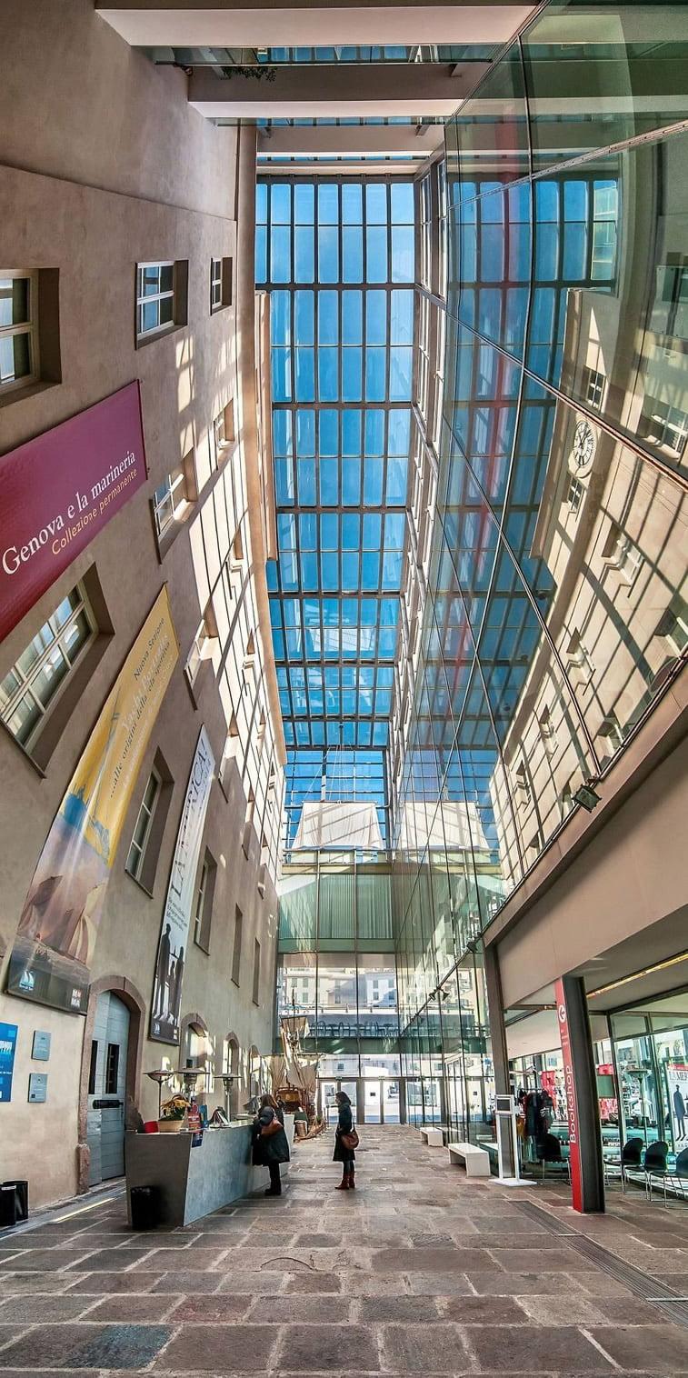 Unutrašnje panorame arhitektonskih zdanja 5