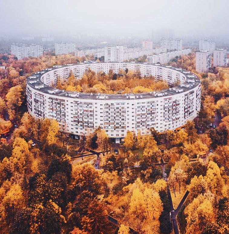 Fotografije zlatne jeseni Kristine Makejeve 13