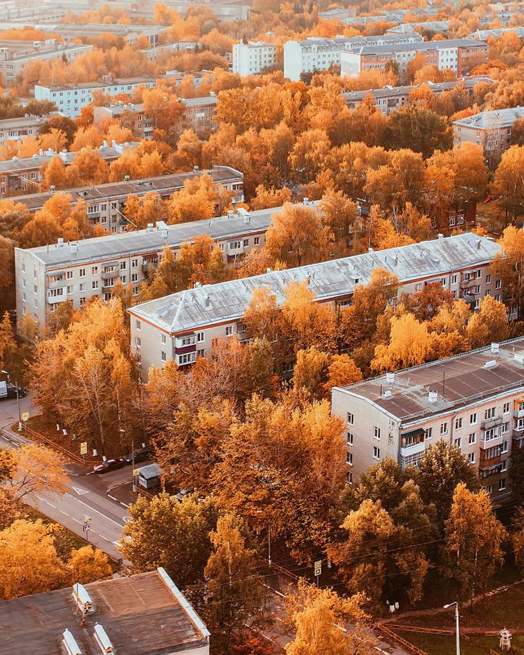 Fotografije zlatne jeseni Kristine Makejeve 15