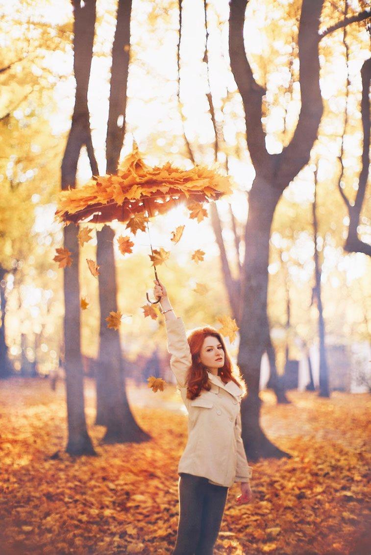 Fotografije zlatne jeseni Kristine Makejeve 16