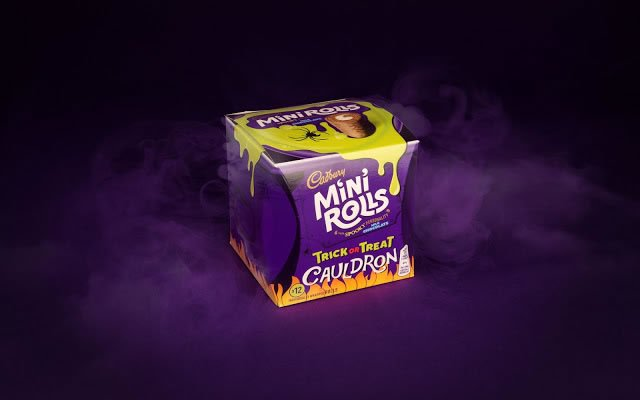 halloween packaging cadbury 1