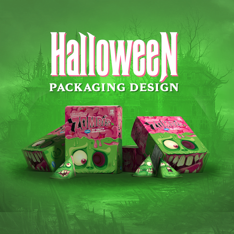 Halloween packaging design