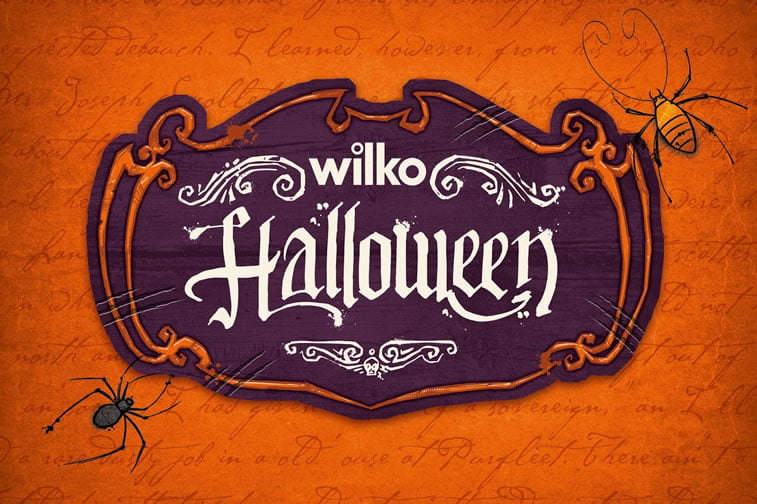 halloween packaging wilko 2