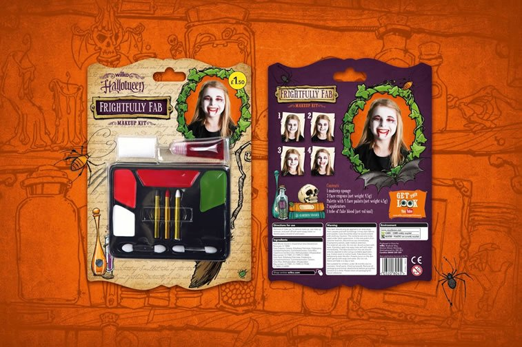 halloween packaging wilko 3