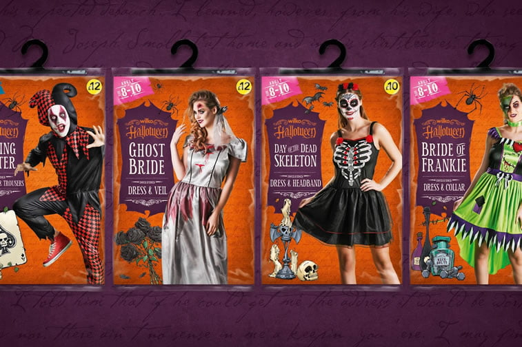 halloween packaging wilko 4