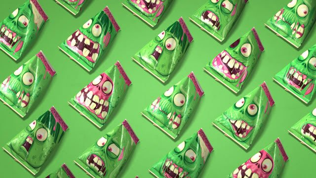 halloween packaging zombis 3
