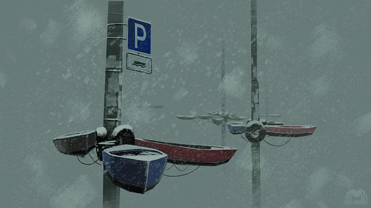 separate reality alex andreyev boat station