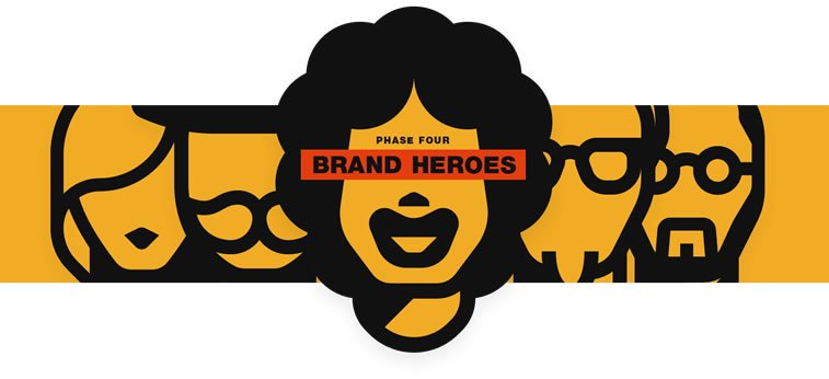 4 brand heroes