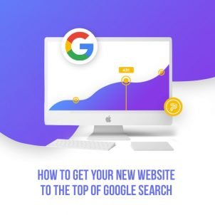 How to get your new website to the top of Google search