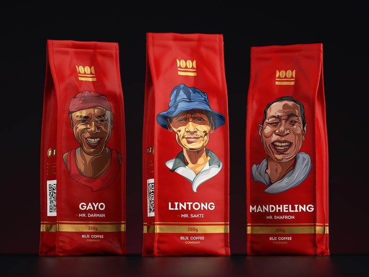 Dizajn ambalaže za kafu: 20 inspirativnih primera – Biji coffee company