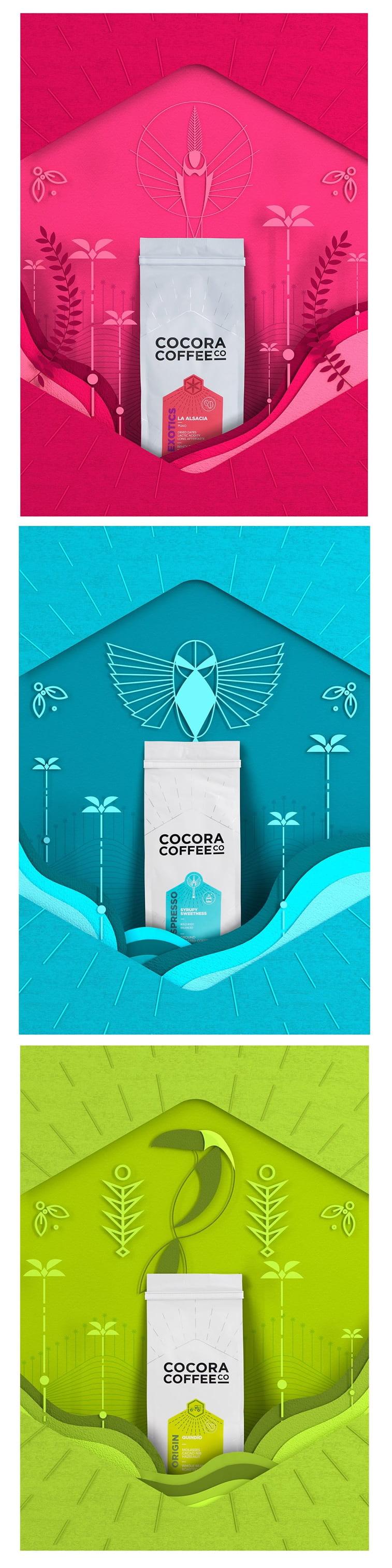 Dizajn ambalaže za kafu: 20 inspirativnih primera – Cocora coffee 1